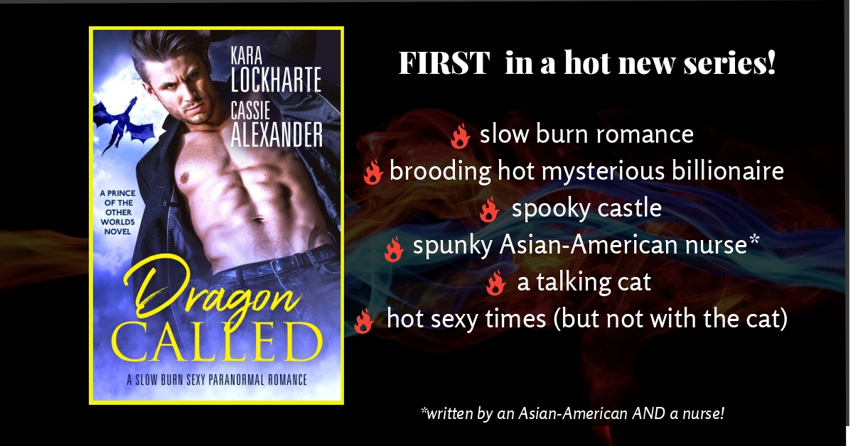 DRAGON CALLED IS THE FIRST IN A HOT NEW SERIES!